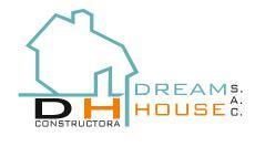 Constructora Dream House SAC, CONSTRUCCION DE EDIFICIOS COMPLETOS Y PARTES DE EDIFICIOS; OBRAS DE INGEN. CIVIL,ACONDICIONAMIENTO DE EDIFICIOS,ALQUILER DE EQUIPO DE CONSTRUCCION Y DEMOLICION DOTADO CON OPERARIOS, Dream House