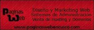 Páginas Web en Cusco, PUBLICIDAD, CUSCO, DISEÑO DE PÁGINAS WEB PROFESIONALES PARA EMPRESAS Y NEGOCIOS