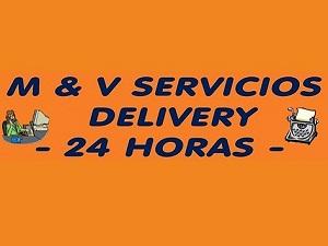 M & V Servicios Delivery - 24 horas, OTRAS ACTIVIDADES DE SERVICIOS, JESUS MARIA, FAX - IMPRESIONES - COPIAS