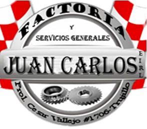 FACTORIA Y SERVICIOS GENERALES JUAN CARLOS EIRL, VENTA DE PARTES, PIEZAS Y ACCESORIOS DE VEHICULOS AUTOMOTORES,MANTENIMIENTO Y REPARACION VEHICULOS AUTOMOTORES, TRUJILLO, factoria, torno, servicios de mecanica, repuestos, mecanica automotriz, factoria juan carlos, servicios generales juan carlos, factorias en trujillo, talleres de mecanica, venta de partes, piezas, accesorios, ferreteria, equipos, partes industriales, piezas industriales, reparacion, estructuras metálicas, fabricacion de maquinarias, prensa, mecanica de produccion, matriceria, fabricaciion de piñones, ejes ranurados