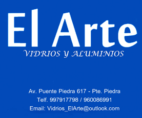 EL ARTE Vidrios y Aluminios, OTRAS ACTIVIDADES DE SERVICIOS, vidrios, elartevidrios, vidriospuentepiedra, elartepuentepiedra, estantes, melamina, aluminio,
